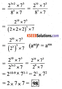 KSEEB Solutions for Class 7 Maths Chapter 13 Exponents and Powers Ex 13.2 40