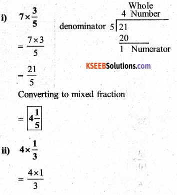 KSEEB Solutions for Class 7 Maths Chapter 2 Fractions and Decimals Ex 2.2 6