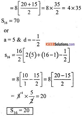 Karnataka State Syllabus Class 10 Maths Chapter 1 Arithmetic Progressions Ex 1.4 4