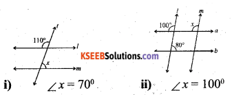 KSEEB Solutions for Class 7 Maths Chapter 5 Lines and Angles Ex 5.2 30