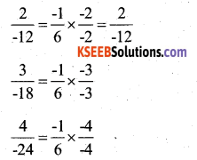 KSEEB Solutions for Class 7 Maths Chapter 9 Rational Numbers Ex 9.1 22