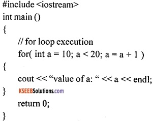 1st PUC Computer Science Question Bank Chapter 10 Control Statements 15