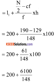1st PUC Economics Question Bank Chapter 5 Measures of Central Tendency image - 9