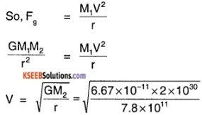 1st PUC Physics Question Bank Chapter 8 Gravitation img 57