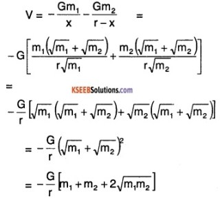 1st PUC Physics Question Bank Chapter 8 Gravitation img 67