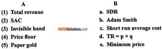 2nd PUC EconomicsModel Question Paper 1 with Answers image - 1