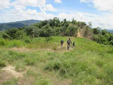 Mt. Balagbag is popular to bikers as well.