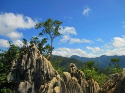 The amazing rock formations and astonishing views of the Sierra Madre Mountain Range at the summit of Mt. Daraitan.