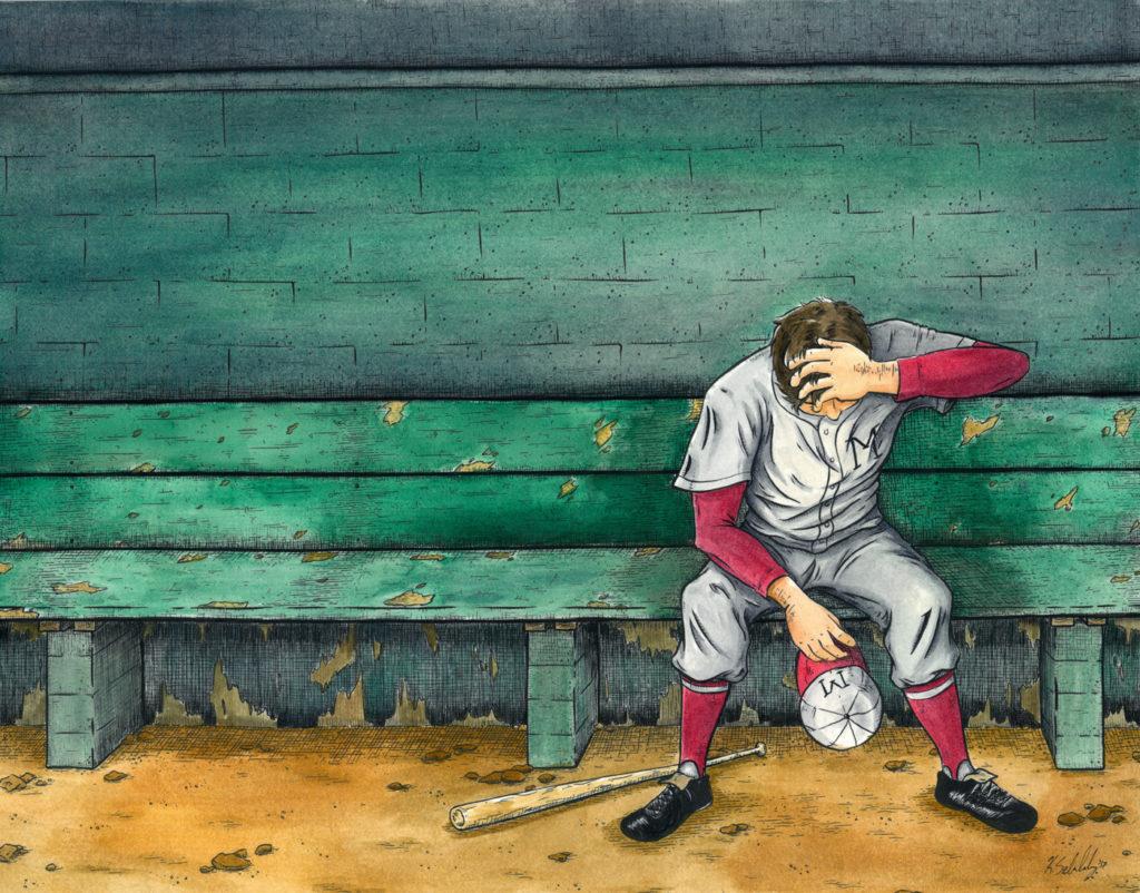 K Sekelsky Illustration Casey At The Bat