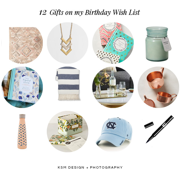 BirthdayWishList2016