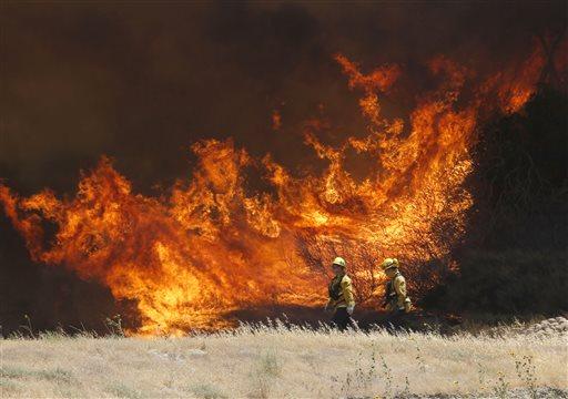 California Wildfires_298001