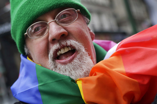 Gilbert Baker Rainbow Flag, Gay Rights_367382