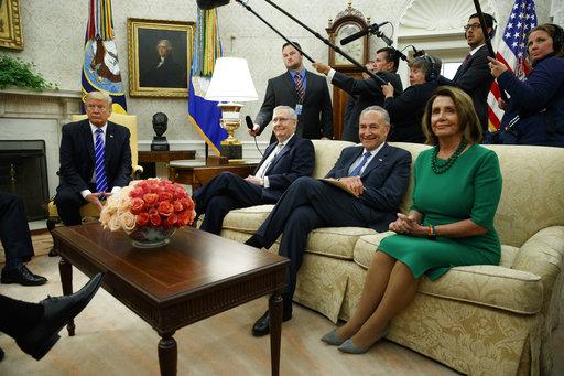 Donald Trump, Mitch McConnell, Chuck Schumer, Nancy Pelosi_442727