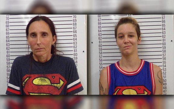 Patricia Spann and Misty Spann, Stephens County Jail_306639