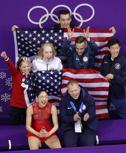 Pyeongchang Olympics Figure Skating Team Event_519045