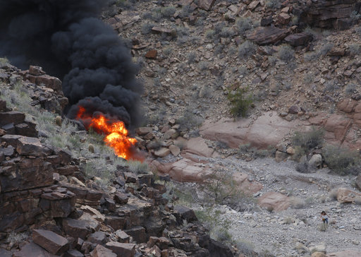 APTOPIX Grand Canyon Helicopter Crash_519076