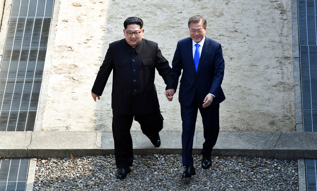 APTOPIX Koreas Summit Photo Gallery_1524831695363