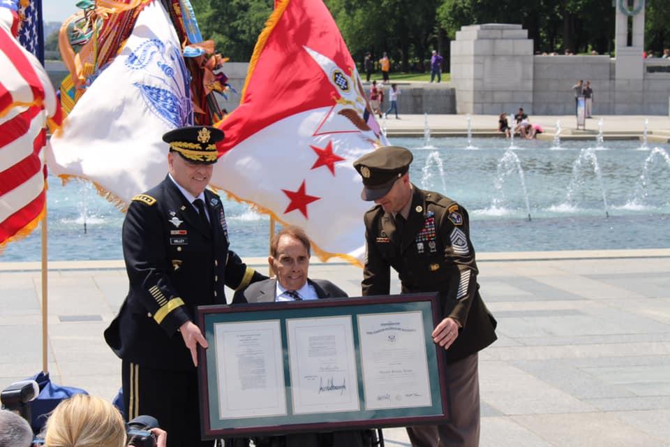 Sen. Bob Dole honored