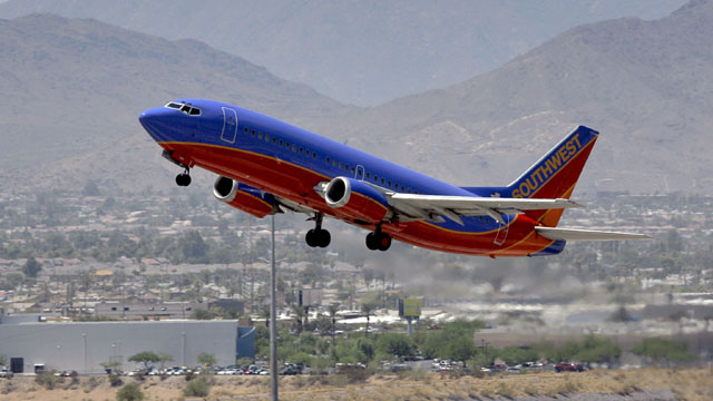 Southwest Airlines plane_326883