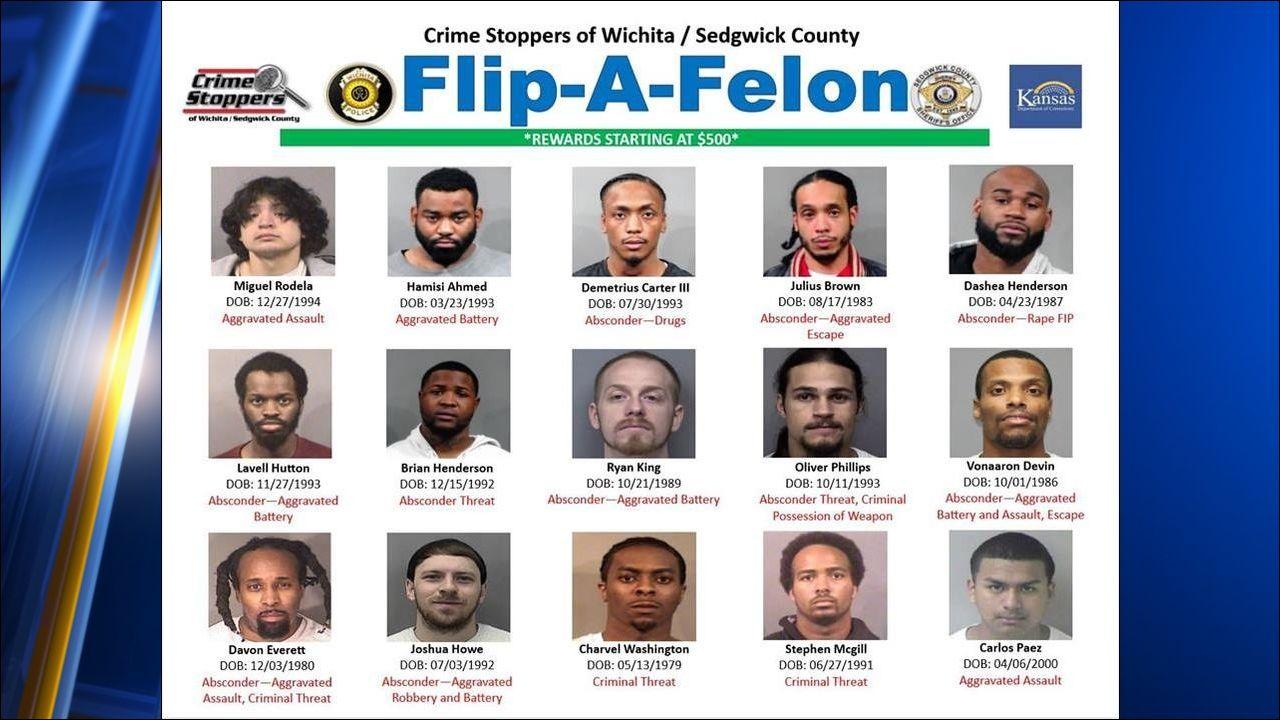 Crime Stoppers announces 'Flip-a-Felon' campaign