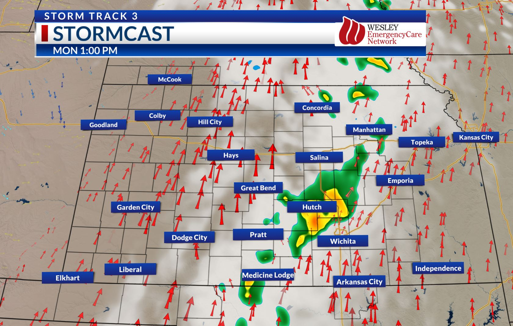 KSN Storm Track 3 Weather | KSN com