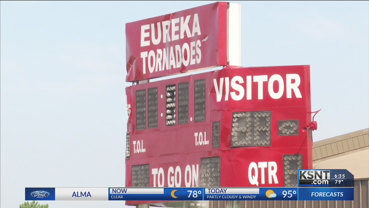 No home football games for Eureka High School after tornado damage