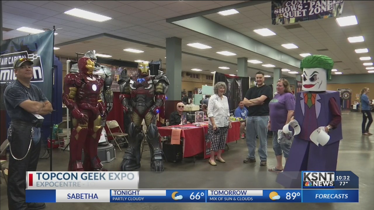 TopCon Geek Convention brings fictional characters to life in Topeka
