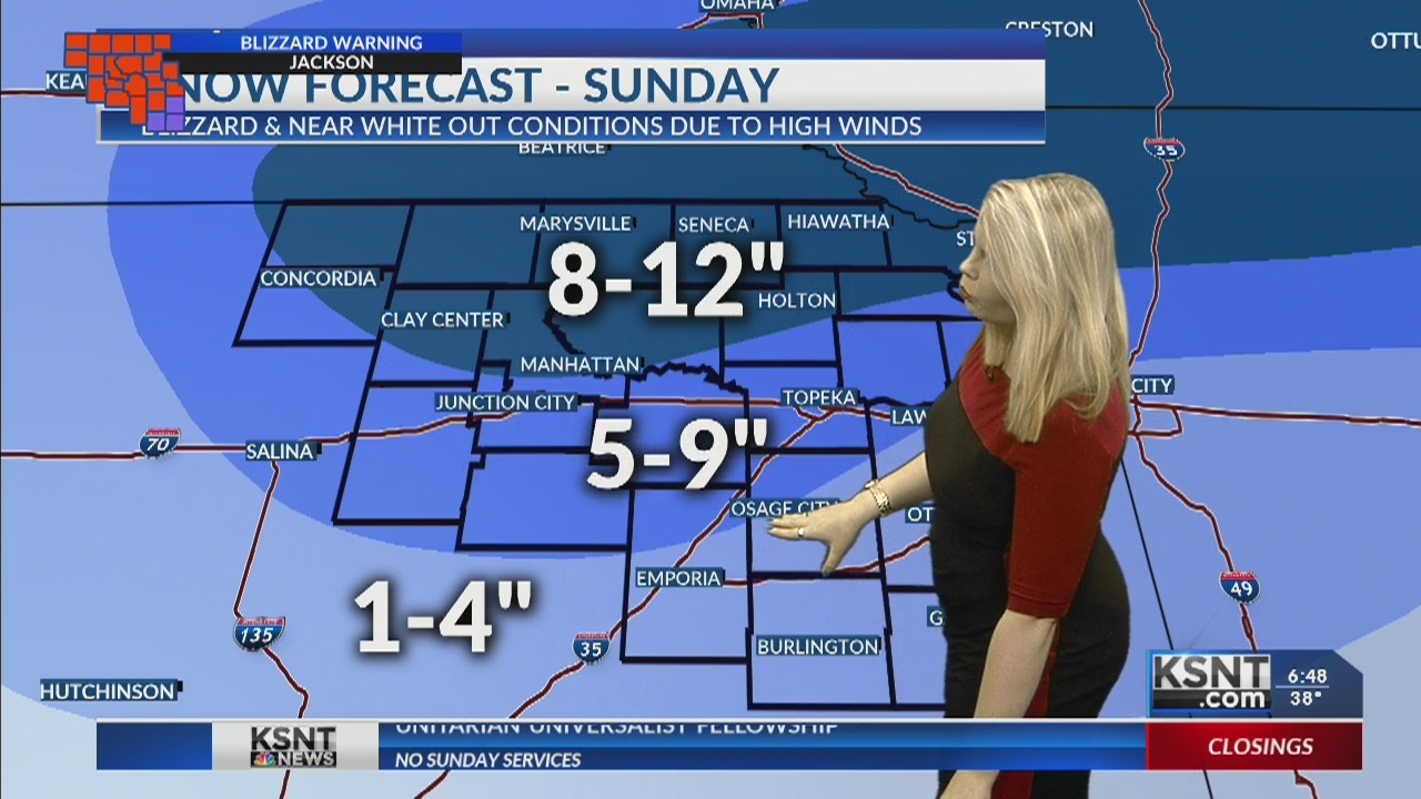 BLIZZARD WARNING: Live updates on snow, road conditions