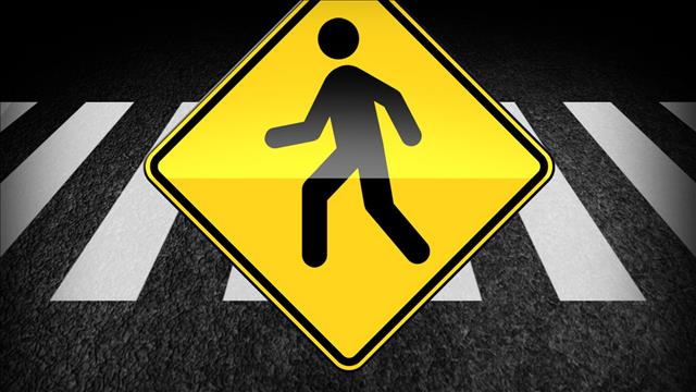 pedestrian traffic sign walking_138882