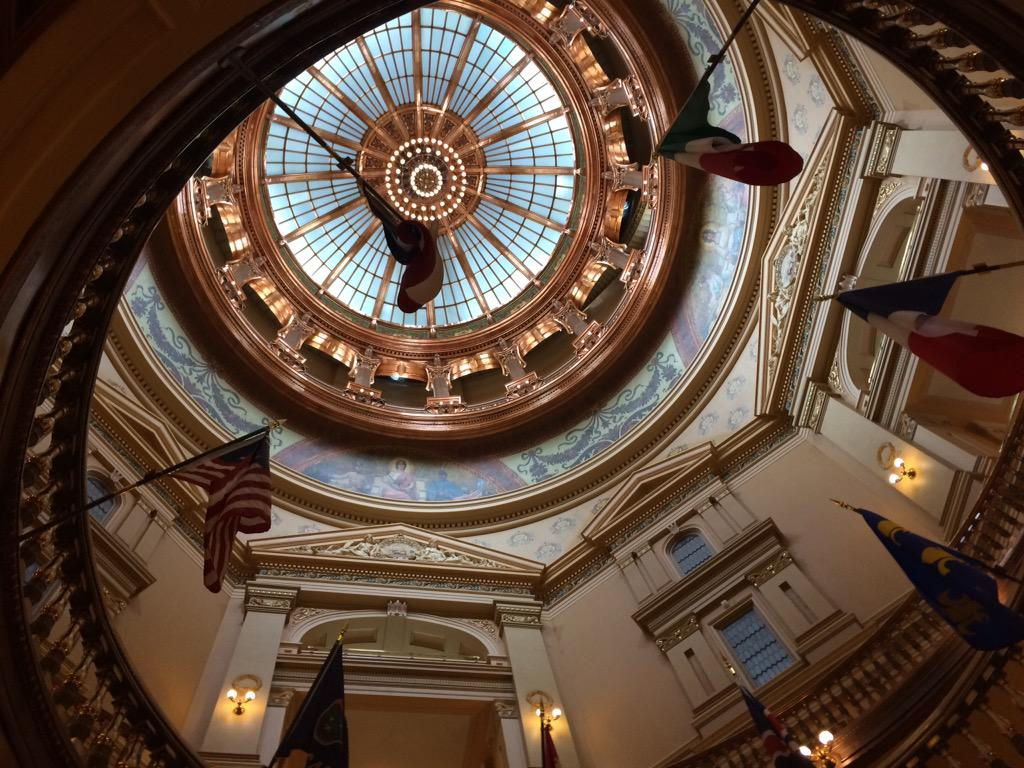 Inside Kansas Statehouse Capital_126178