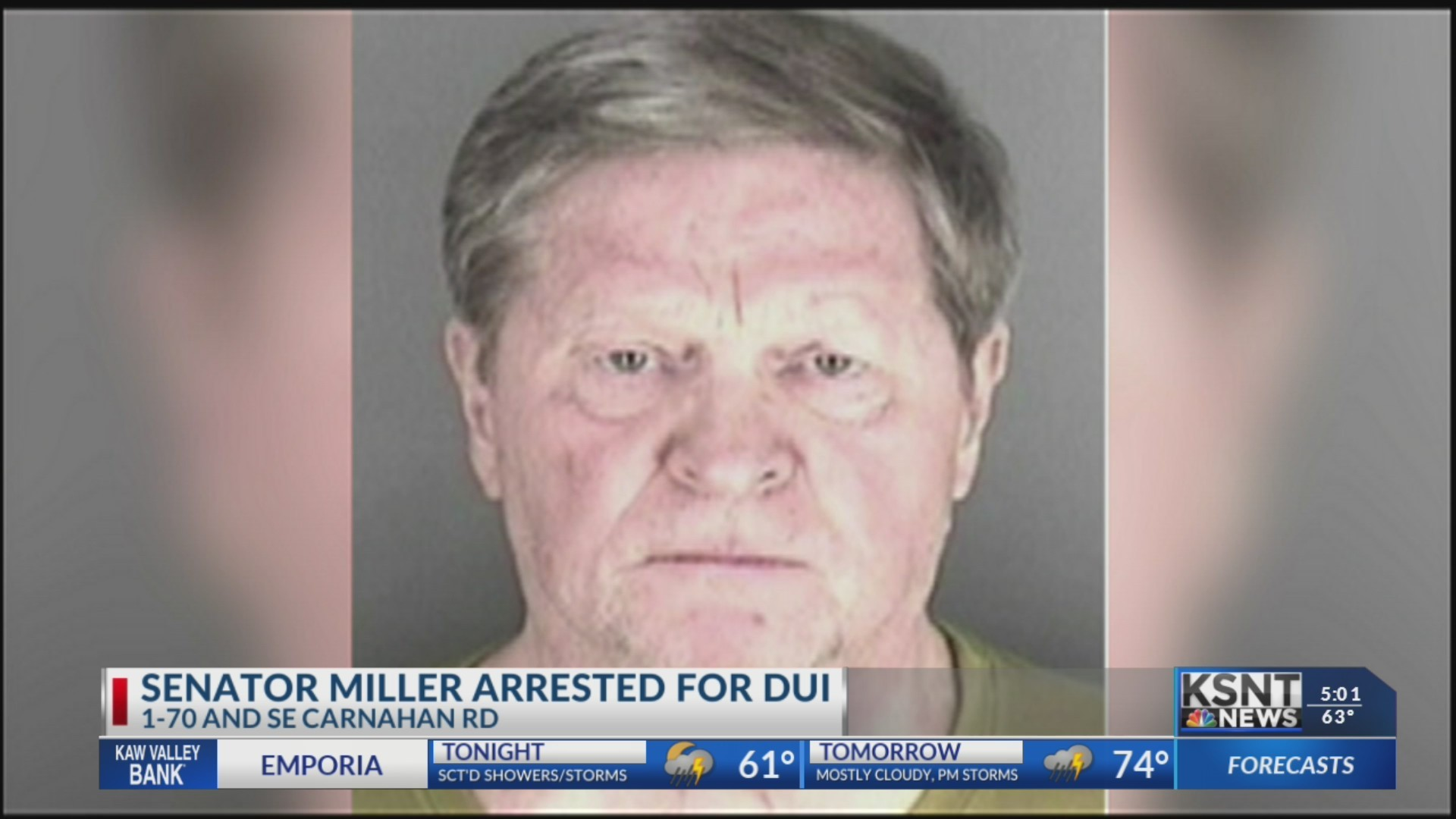 Senator Vic Miller arrested for DUI