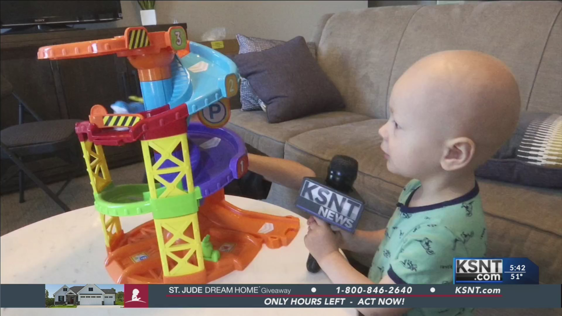 TEAM GRIT: Local boy growing up while battling cancer at St. Jude