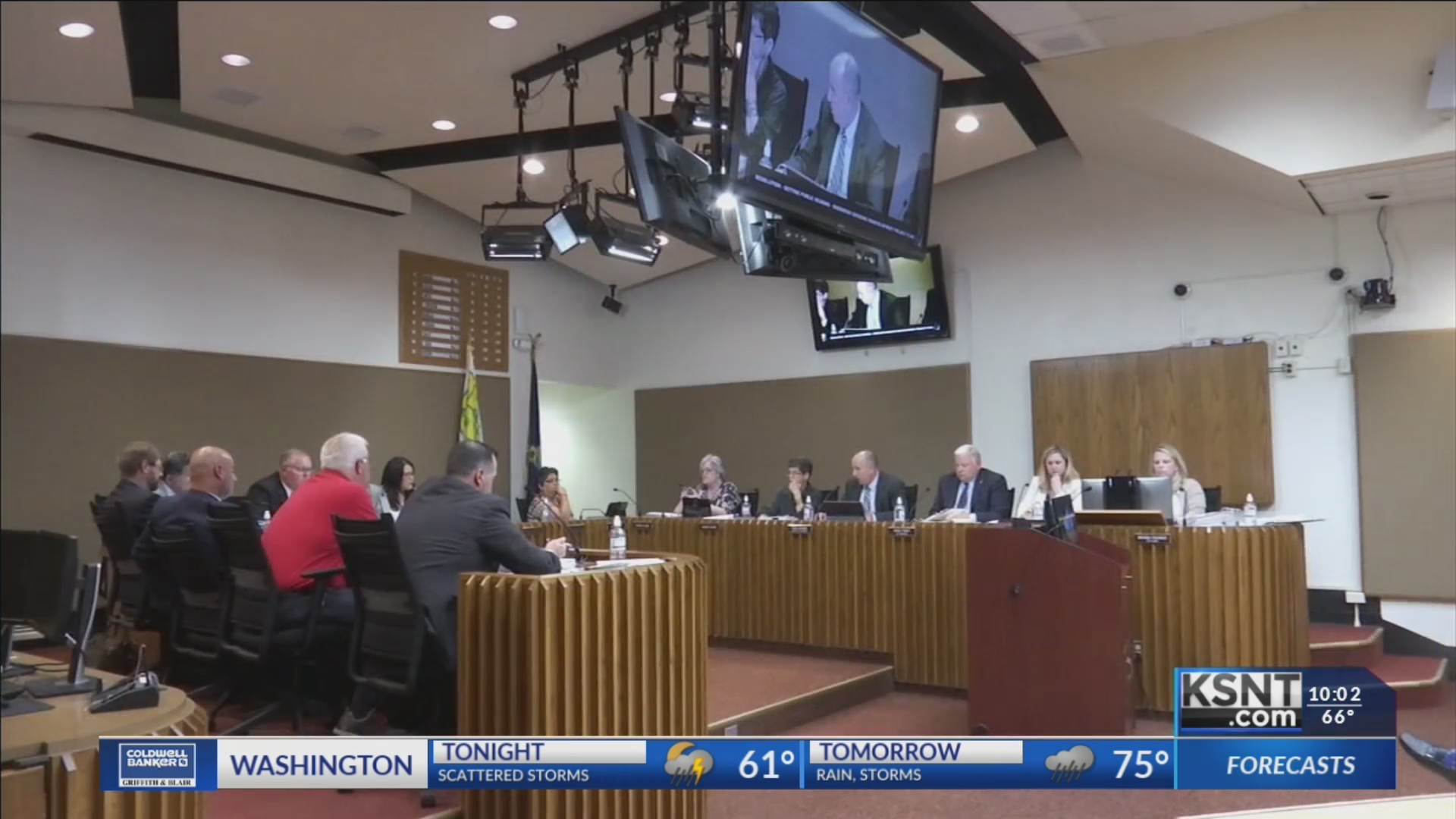 Topeka city council agrees on 17 percent raise for water division employees