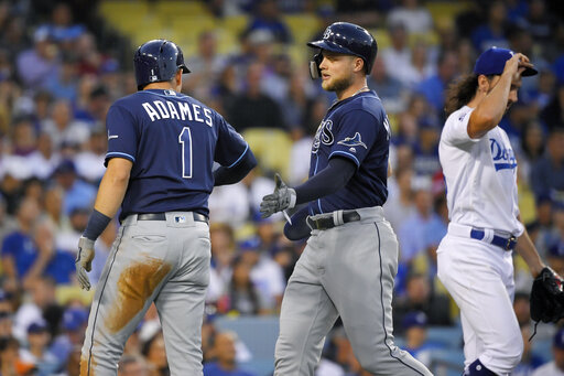 Willy Adames, Austin Meadows, Tony Gonsolin