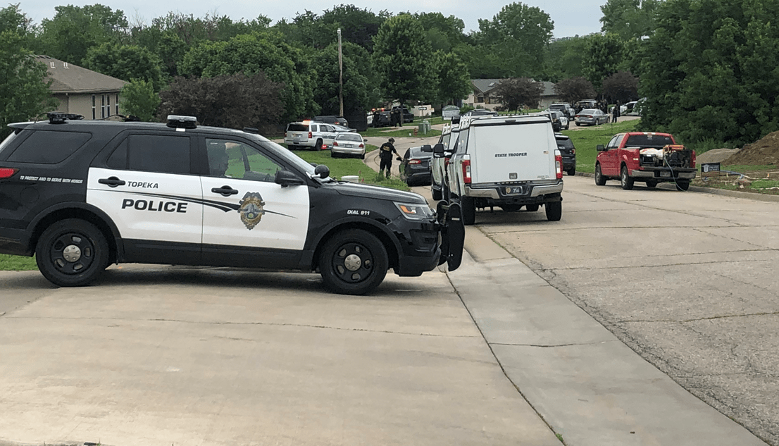 One taken into custody after hours-long standoff