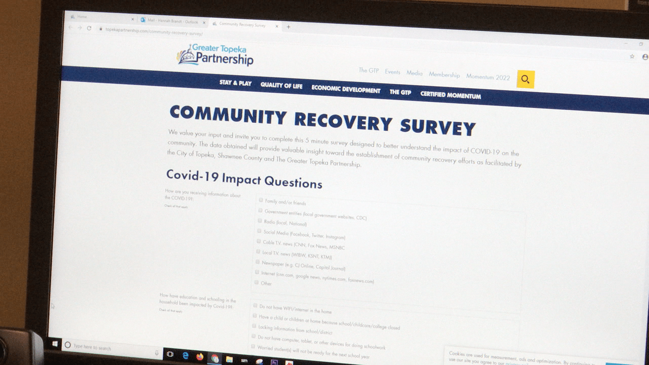 Shawnee County leaders ask people to fill out community recovery survey
