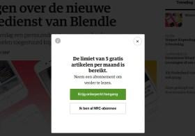 NRC stopt met Blendle daarom ga ik een week alleen díe krant lezen