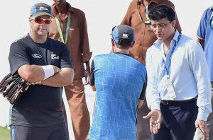 New Zealand take tips from Sourav Ganguly