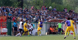 Kolkatta giants Muhammedan Sporting beat Kashmir FC 1-0