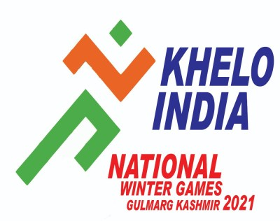 2nd Khelo India National Winter Games arrangements reviewed at Gulmarg. Logo Khelo India