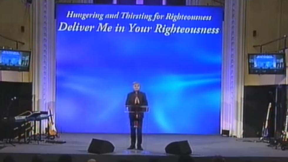 Deliver me in your Righteousness