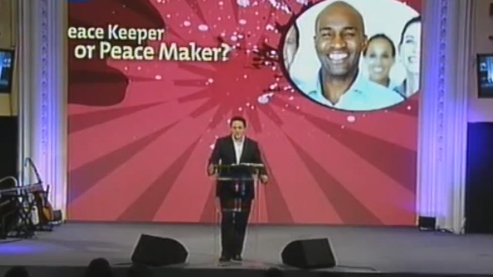 Peace Keeper or Peace Maker