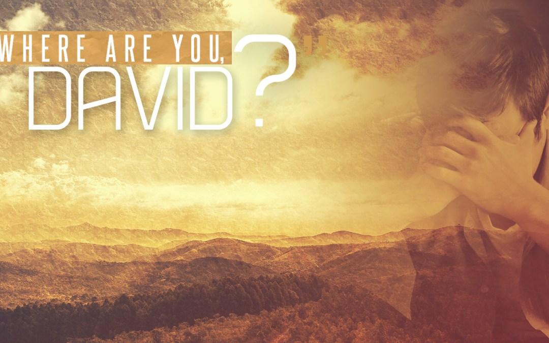 Where are you, David?
