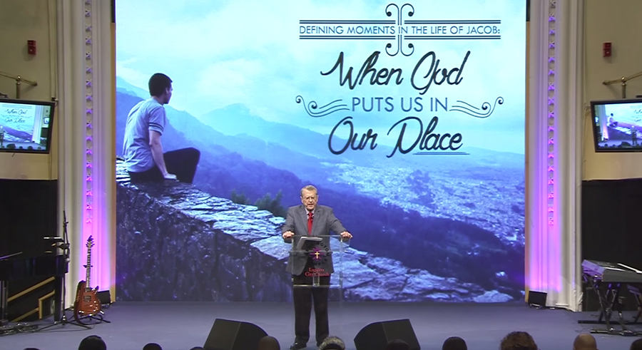 Defining Moments in the Life of Joshua: when God puts us in our Place