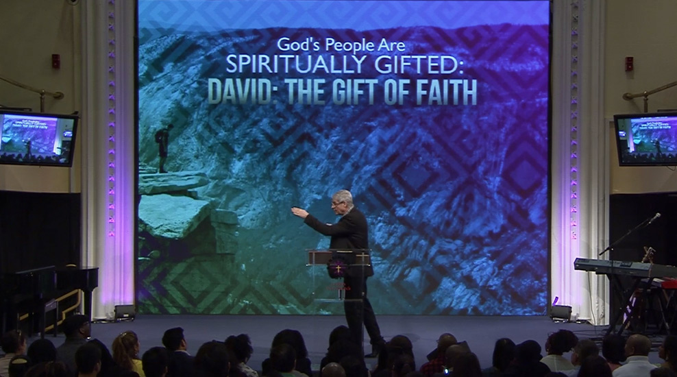 God's People are Spiritually-Gifted: David The Gift of Faith