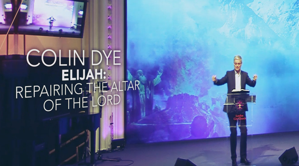 Elijah – Repairing the Altar of The Lord