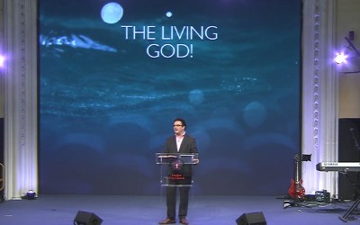 The Living God!
