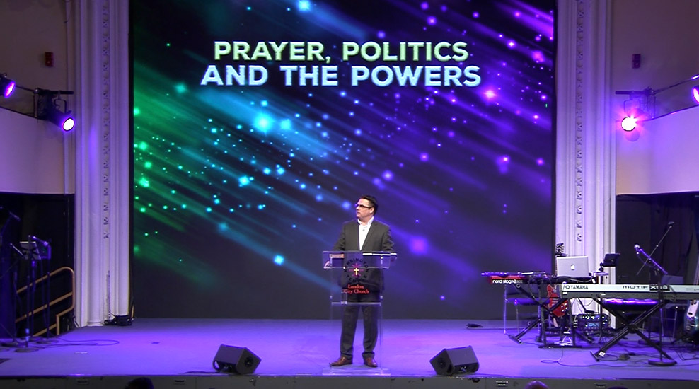 Prayer, Politics and the Powers
