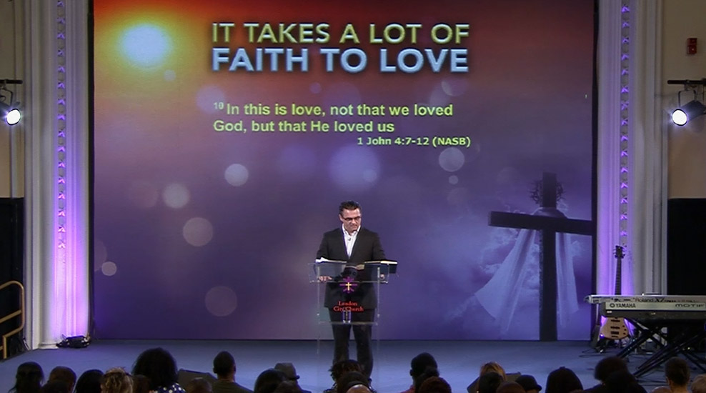 It Takes a Lot of Faith to Love