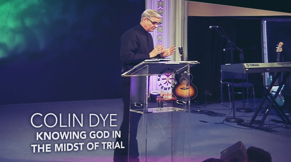 Knowing God in the Midst of Trial